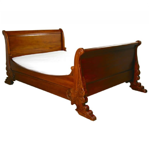 Sleigh Ornate Bed